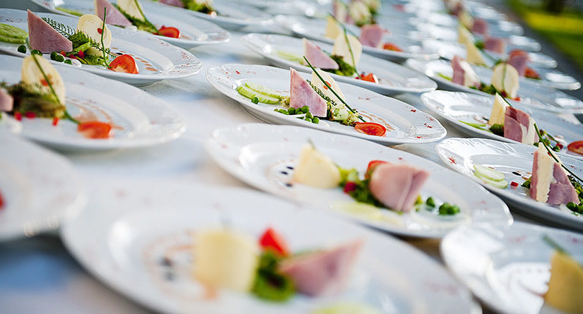 How to arrange catering for events?